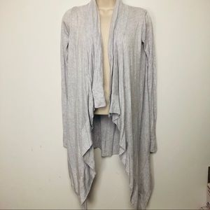 Lululemon Athletic Women's gray cardigan s…
